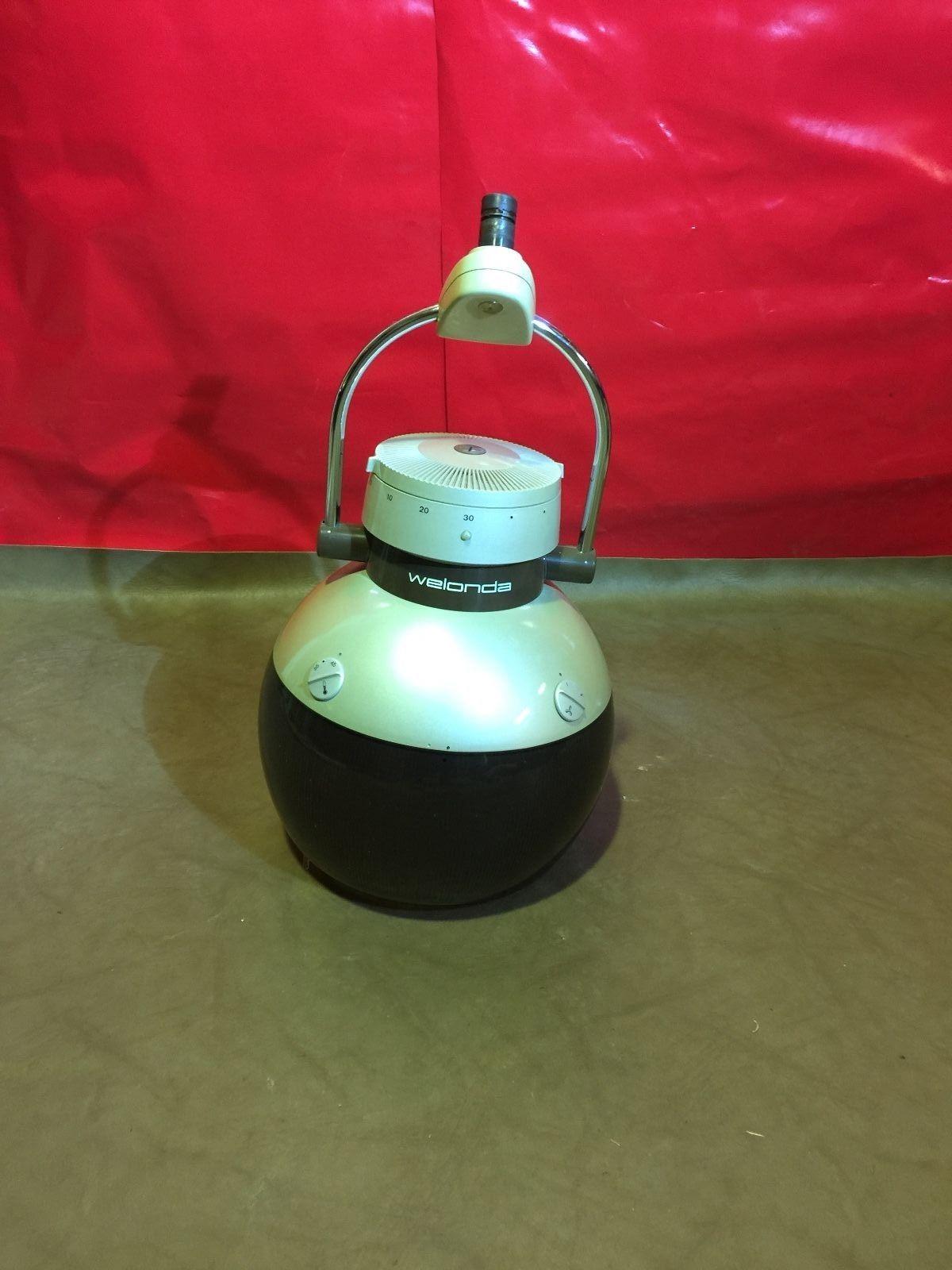 Wella M 35 Trockenhaube (Weiß - braunes Glas) Image