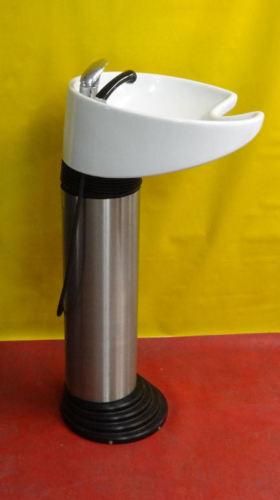 Olymp Rückwärtswaschbecken Lava Top (Weiß/Silber) Image